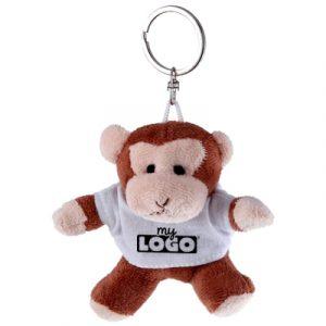 Dani le singe porte clé en peluche personnalisable