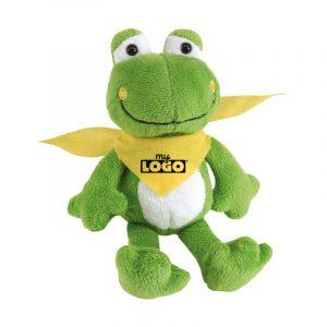 Froggy la peluche grenouille à personnaliser