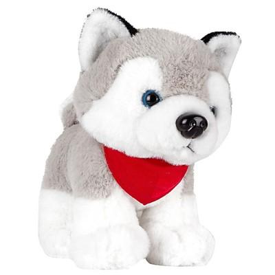 La peluche Spooky, le chien husky à personnaliser