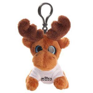 porte clés peluche personnalisée lolo le renne