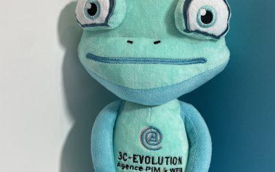 Peluche Sur mesure publicitaire pour 3C Evolution