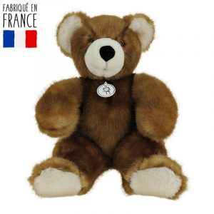 Fredo, un ours en peluche made in France personnalisable