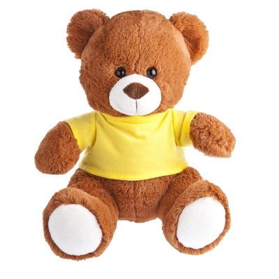 ours peluche publicitaire Freddy