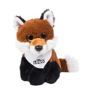 emi le renard en peluche à personnaliser