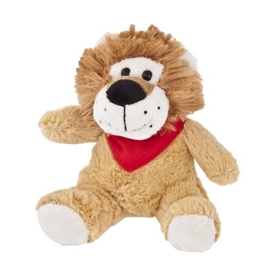 lion en peluche, objet à personnaliser