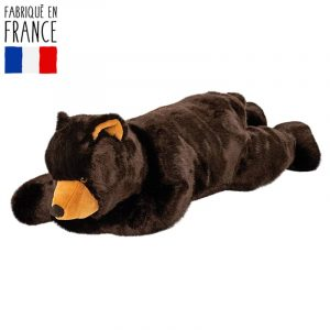 peluche personnalisée ours 60cm fabriqué en france