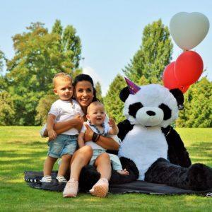 panda géant à personnaliser
