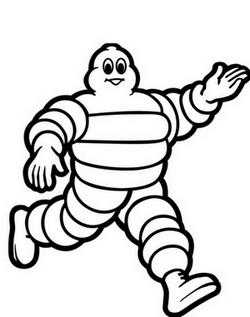 Mascotte Michelin Bibendum