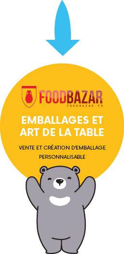 Food Bazar, une marque de Marketing Création