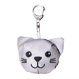 chat porte-clé à personnaliser